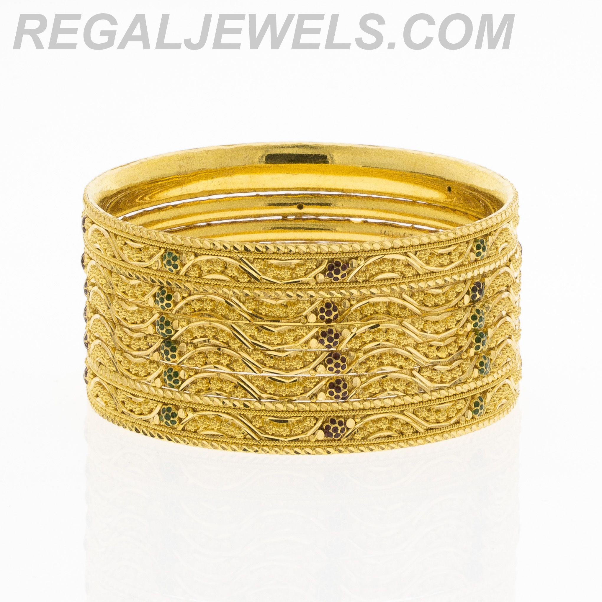 set bangles alex shipping today three overstock and ladybug free jewelry of ani watches product