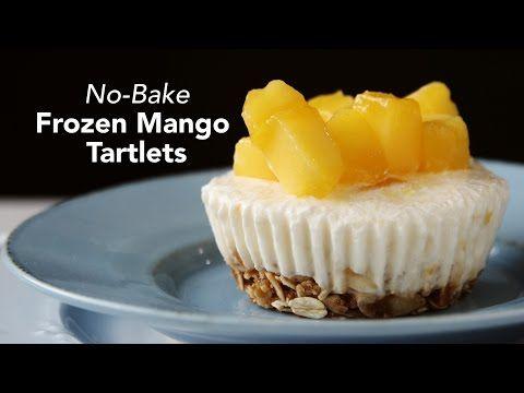 WATCH: How to Make No-Bake Frozen Mango Tartlets | Yummy.ph
