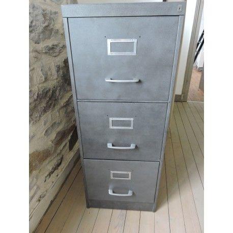 meuble en metal a tiroirs d occasion