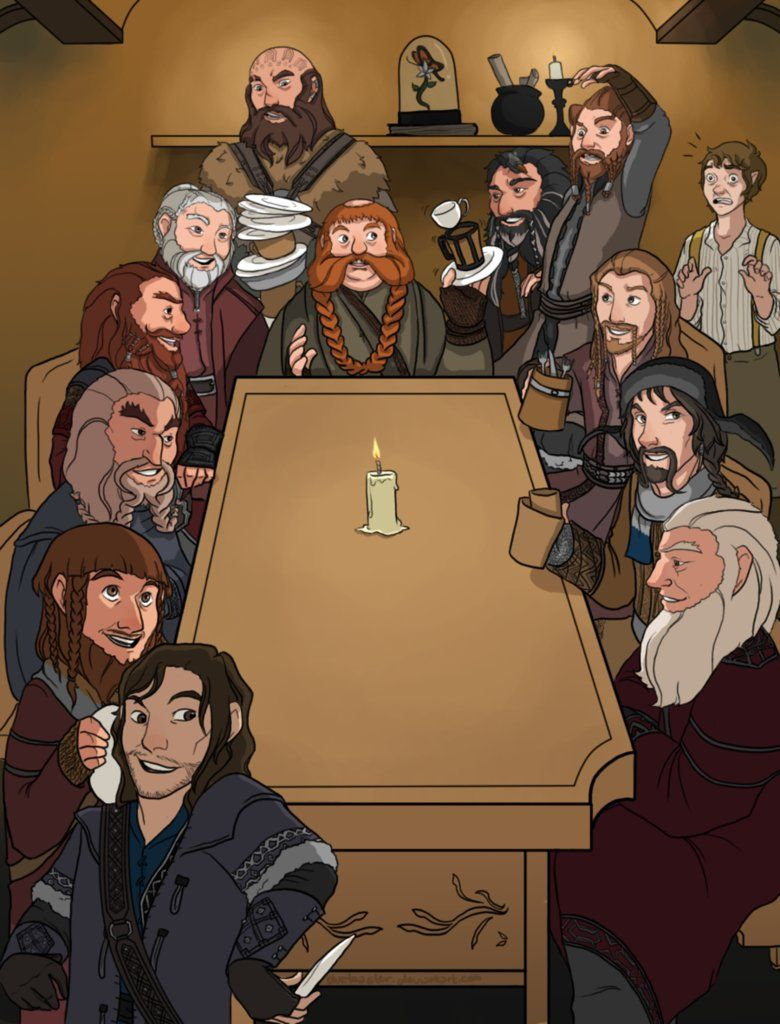 That's what Bilbo Baggins hates by blueToaster on DeviantArt