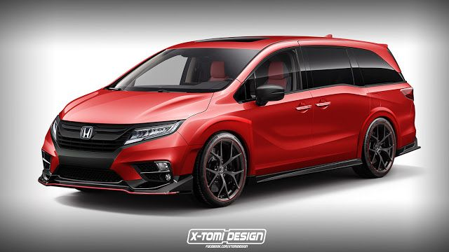 2017 Honda Odyssey Type R Study #Honda #TypeR #tuning