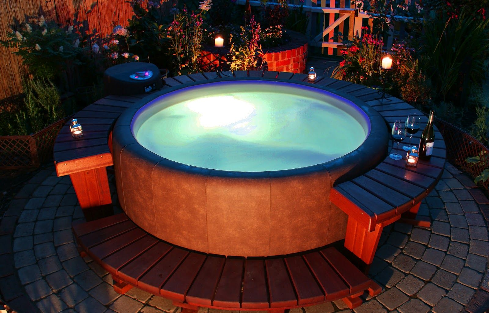 Gardners Gardens Softub Pinterest Hot Tubs And Wiring A Tub Wonderfully Designed Easy To Install The Requires Nothing More Than Level Surface Garden Hose Household Outlet For Setup
