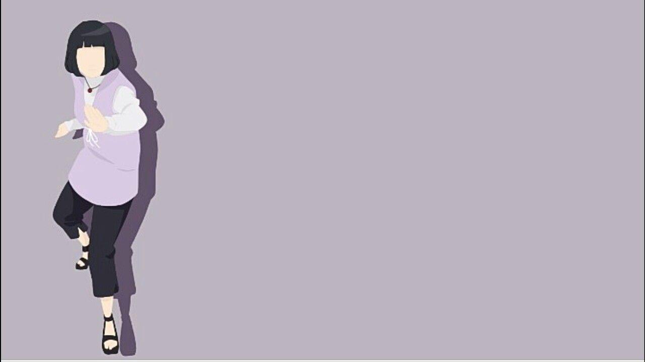 Sasuke Minimalista Fondo: Hinata Wallpaper