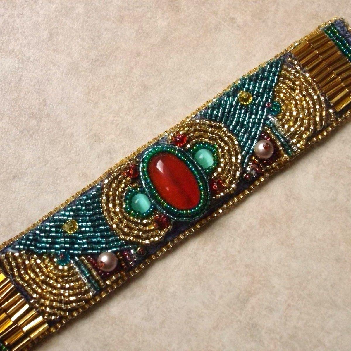 Embroidered Cuffs Abaya