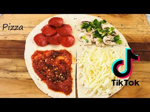 Tiktok Tortilla Wrap Hack Life Changing Tik Tok Tortilla Wrap Hack Pizza Wrap Hack Pizza Lunch Youtube In 2021 Tortilla Wraps Wrap Recipes Wrap Sandwiches