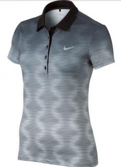 24d4b40fda El polo de golf Nike Print Polo 2.0 para mujer está confeccionado con un  tejido elástico que capilariza el sudor para una comodidad que dura hasta  el último ...
