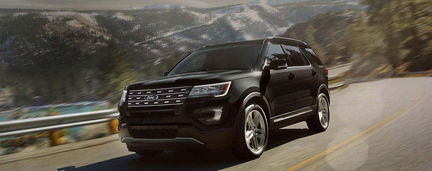 2016 Ford Explorer SUV at North Point Ford Fort Worth