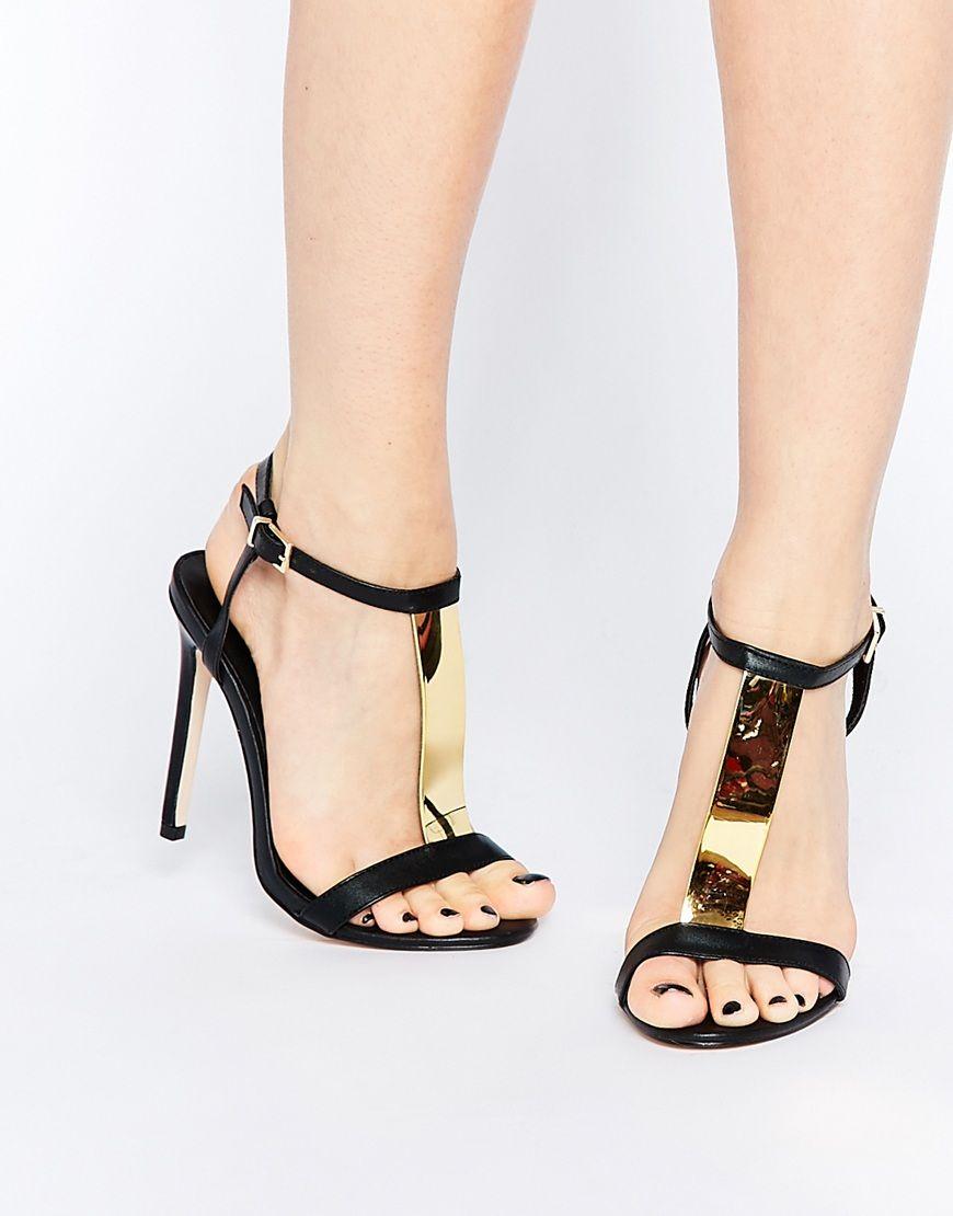 ASOS | Online shopping for the Latest Clothes & Fashion  Heeled SandalsOpen  Toe SandalsBlack SandalsBlack ShoesShoes SandalsWide