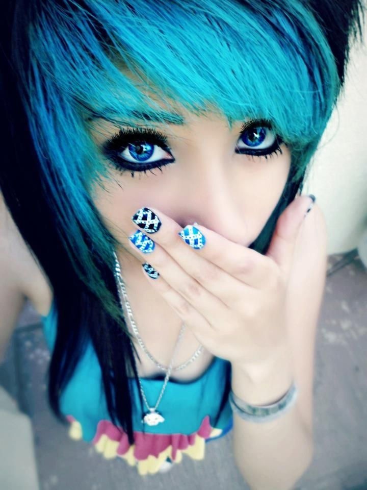 Pin By Selena Rock On Hairstylescolors Pinterest Emo Scene And