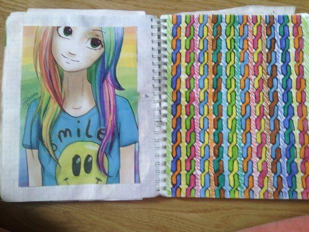 картинки в личный дневник для девочек нарисовать
