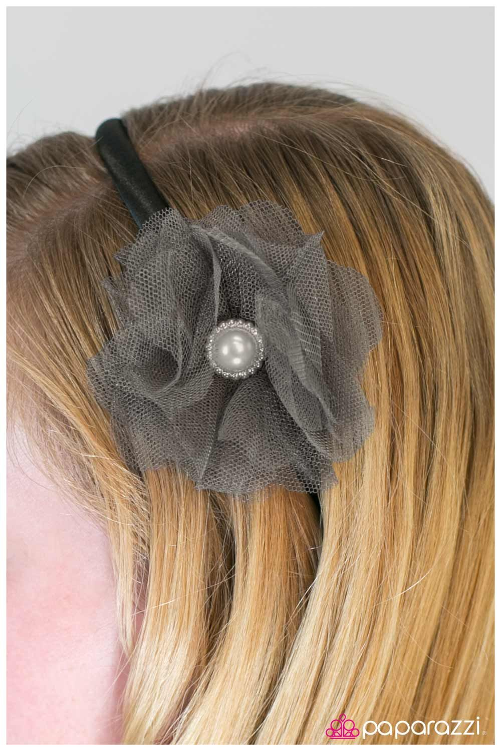 Black bow hair accessories - Tulle Ing Around 5 Hair Accessories Headbands And Jewelry Silver And