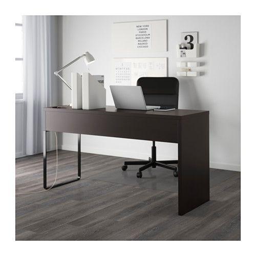 Micke Desk Black Brown 55 7 8x19 5 8 Grijze Bureau Wit Bureau Ikea Desk