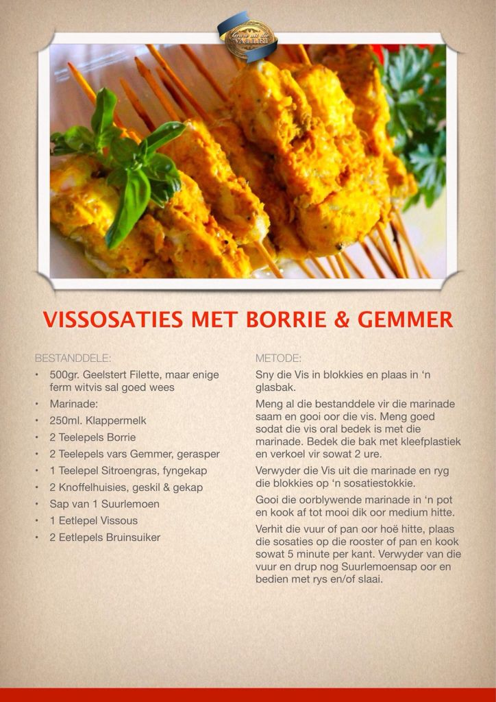 Traditional South African Fish Cakes