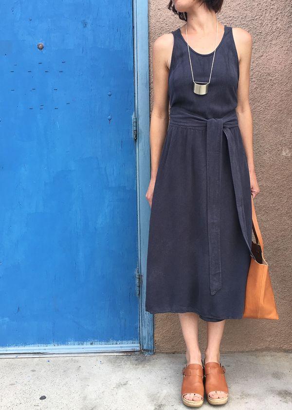 bcb455fea126 Black Crane Wrap Dress | To Be Clothed | Fashion, Dresses, Style