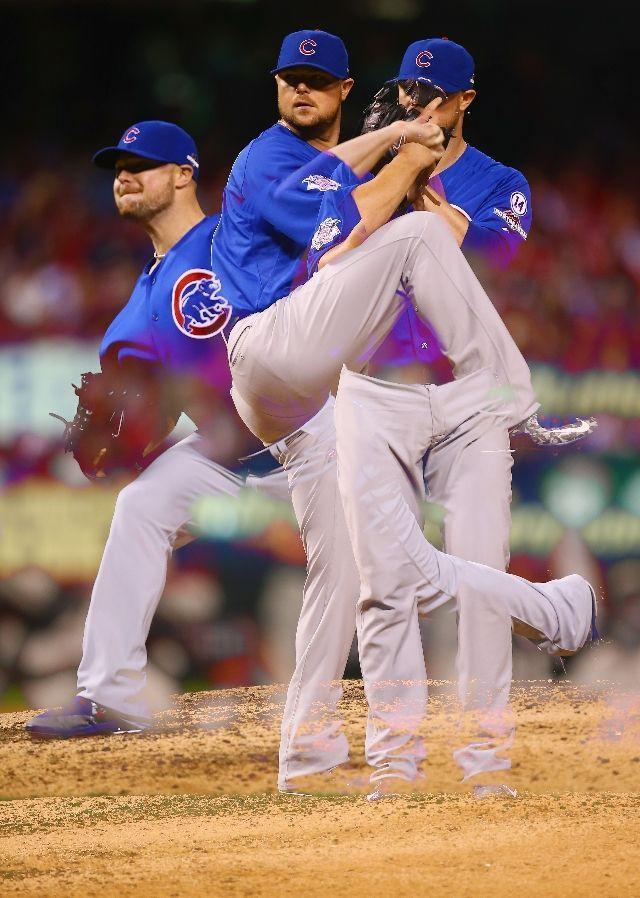 Jon Lester, CHC//Game 1 NLDS at STL, Oct 9, 2015