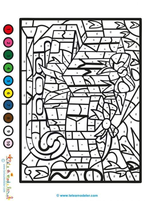 Coloriage magique du soir de no l t te modeler coloriage magique magique et coloriage - Tete a modeler noel ...