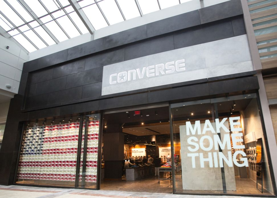 Nike Inc Converse Opens Its First Mall Based Retail Store In New Jersey Branding