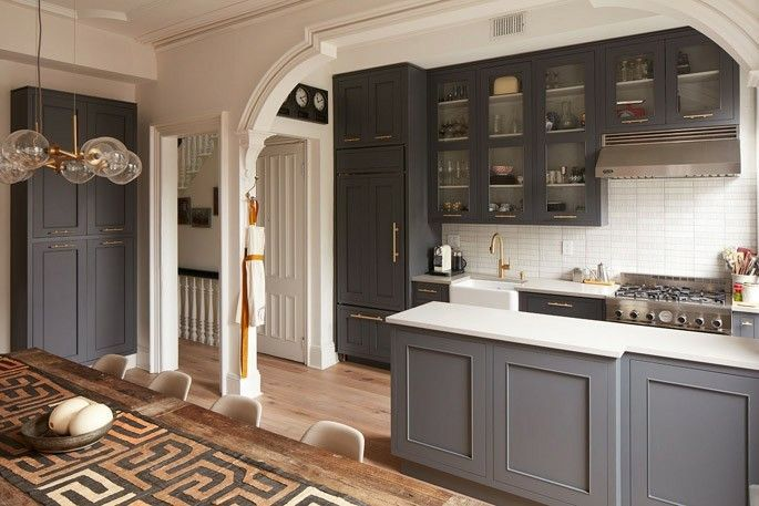 Arch Between Kitchen And Dining Room Someday House In 2019