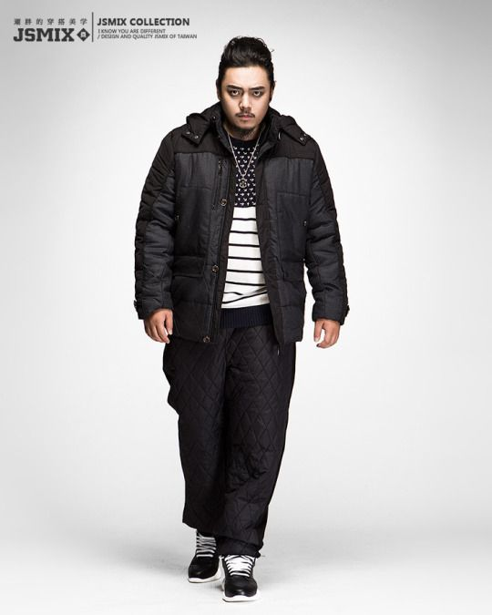 Plus Size Asian Fashion And Cute Casual Fashion  Fat Guy -9533