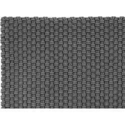 Photo of Indoor and outdoor floor mat plain gray, designer pad concept, 170 cm
