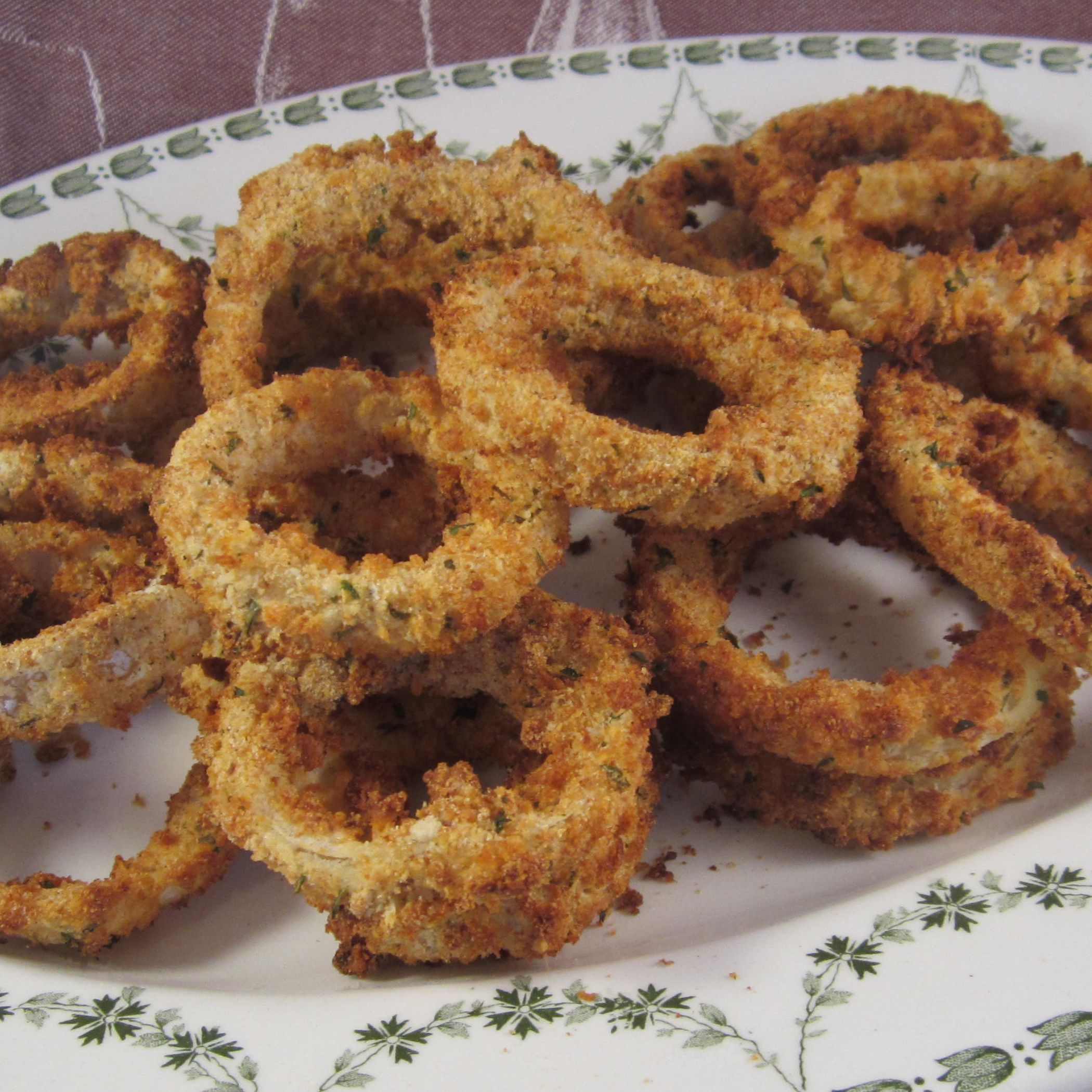 Air-Fried Onion Rings