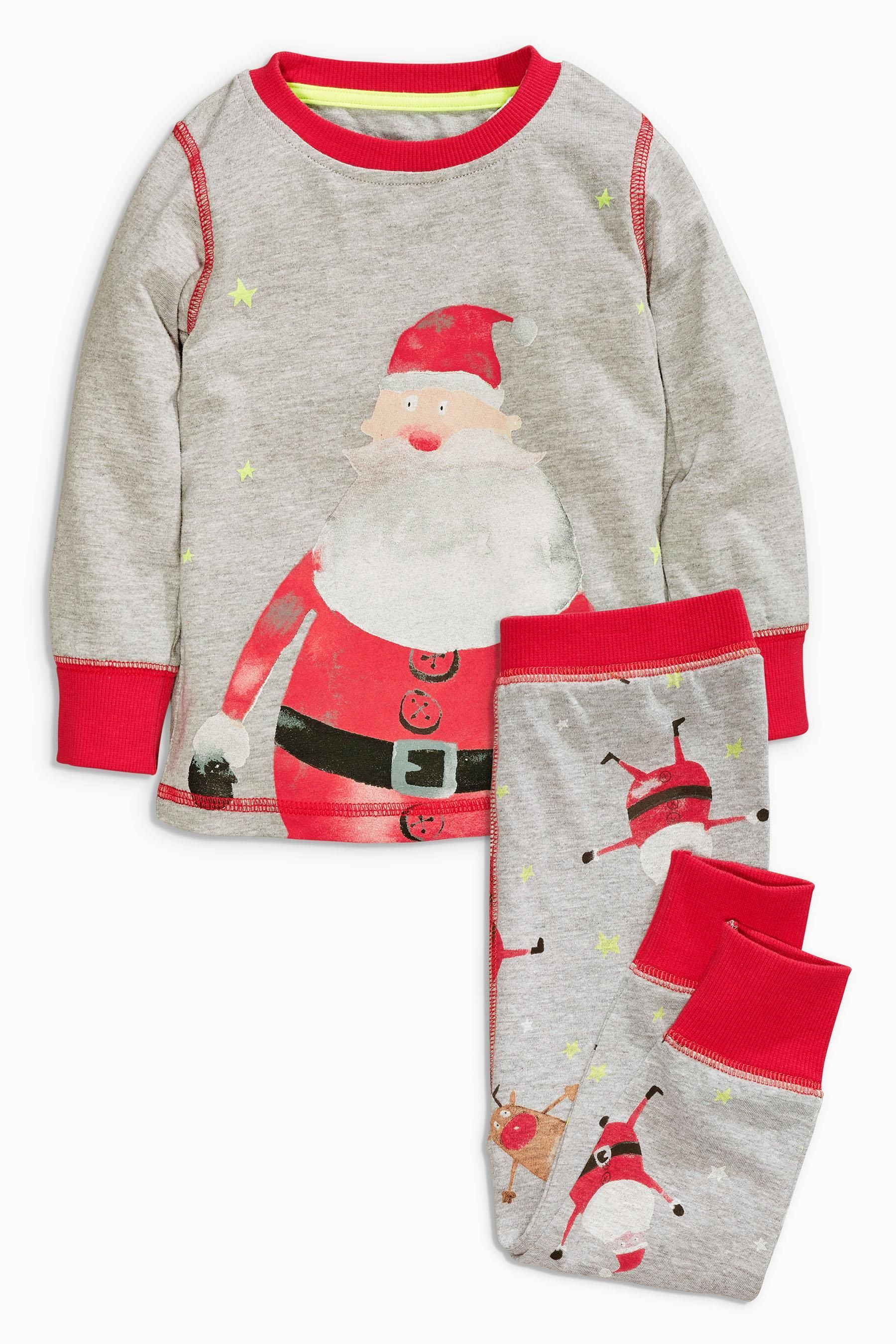 Buy Multi Santa Print Pyjamas 9mths 8yrs from the Next UK online