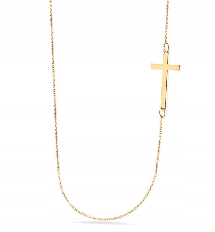 Kup Teraz Na Allegro Pl Za 45 Zl Srebrny Naszyjnik Proba 925 Celebrytka Krzyzyk 9336221030 Allegro Pl Radosc Zakupow I B Necklace Cross Necklace Jewelry