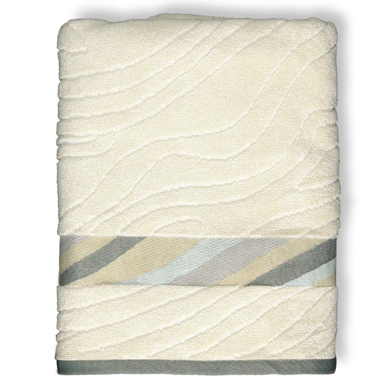 Popular Bath Shell Rummel 3 Piece Sand Stone Bath Towel Set Shell