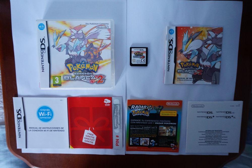 Pokemon Edicion Blanca 2 Nintendo Blanco Game Ds Nds Lite Dsi Idioma Español Esp Italian Buffet Kid Desserts Recycled Metal