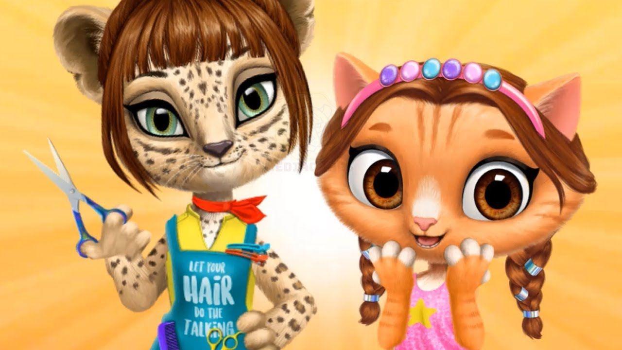 Fun Cutest Cat Hairstyling Game For Girls Amy S Animal Hair Salon Beauty Dress Up Games Pet Kitten Care Pet Hair Kitten Care