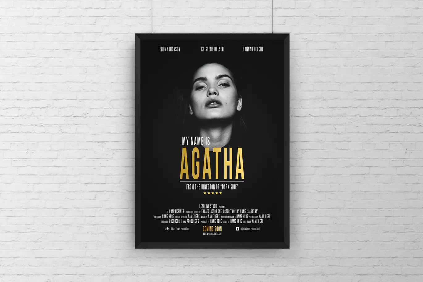 movie poster template psd a3 poster templates pinterest movie