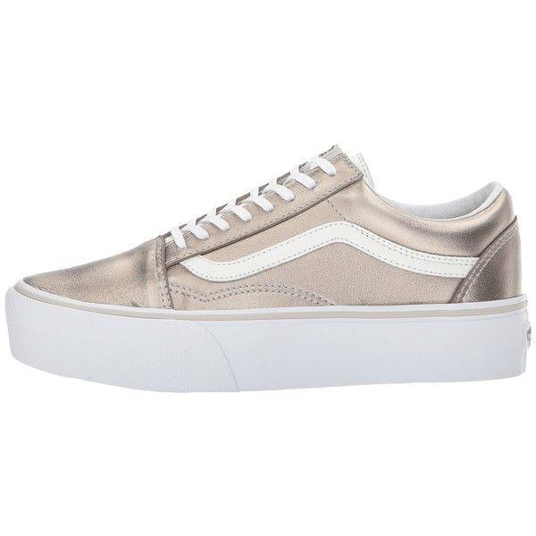 Vans Old Skool Platform (Gray Gold/True