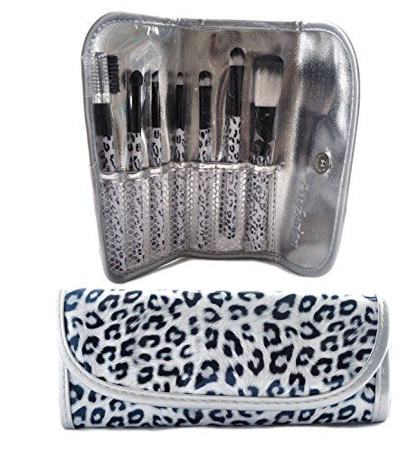 Profusion 7 Pcs White Leopard Brush Set Kit - Lip, Eye Brow, Eye Shadow Make Up Brush Set ** Be sure to check out this awesome product.
