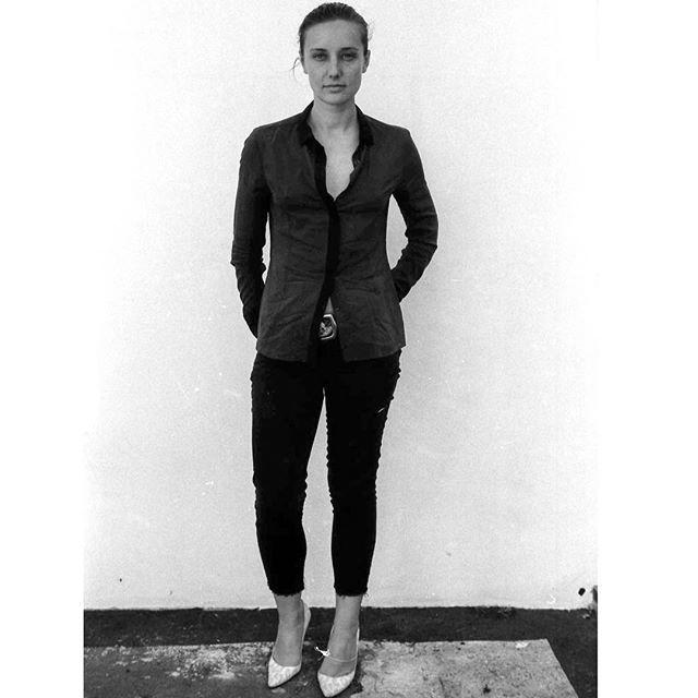 Emma on IG ''#ootd in #blackandwhite. Thx for the @thunderdreamer''