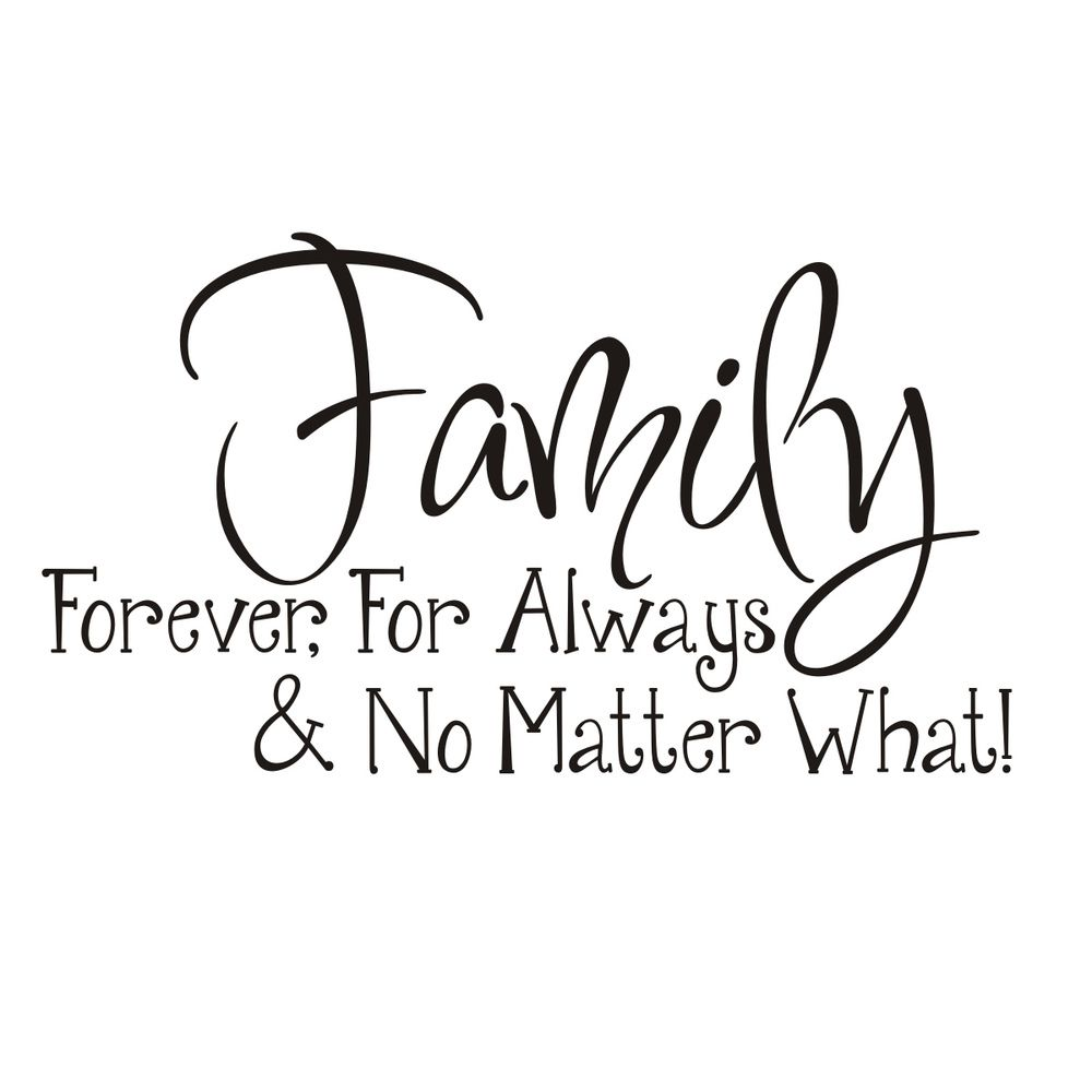 "Family Is Forever Quotes Tattoo Ideas & Inspiration  Quotes & Sayings  ""family Forever"