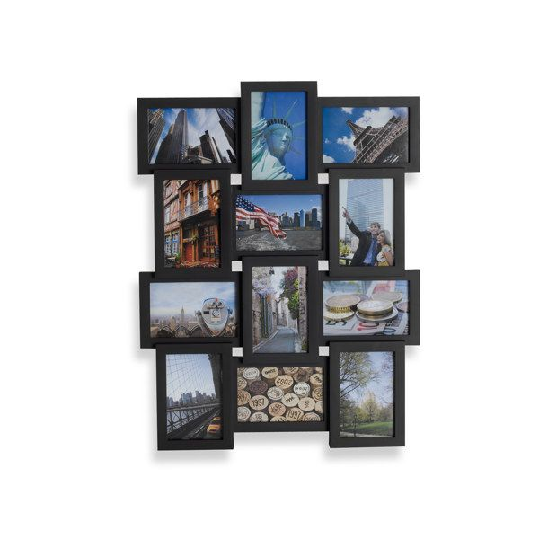 4x6 12 Opening Collage Frame 19 99 Bed Bath Beyond Frame Wall Collage Frame Collage Frames