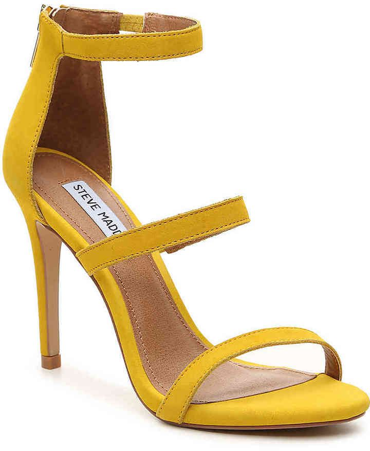b7ade4b4b228 Steve Madden Women s Feelya Sandal -Yellow
