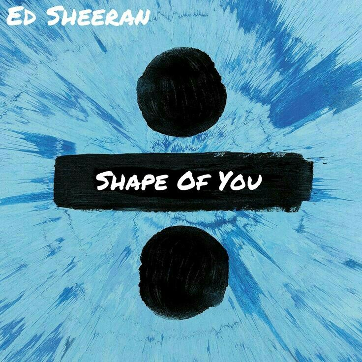 Ed Sheeran - Shape of You Album Art Cover Divide | For The Love Of ...