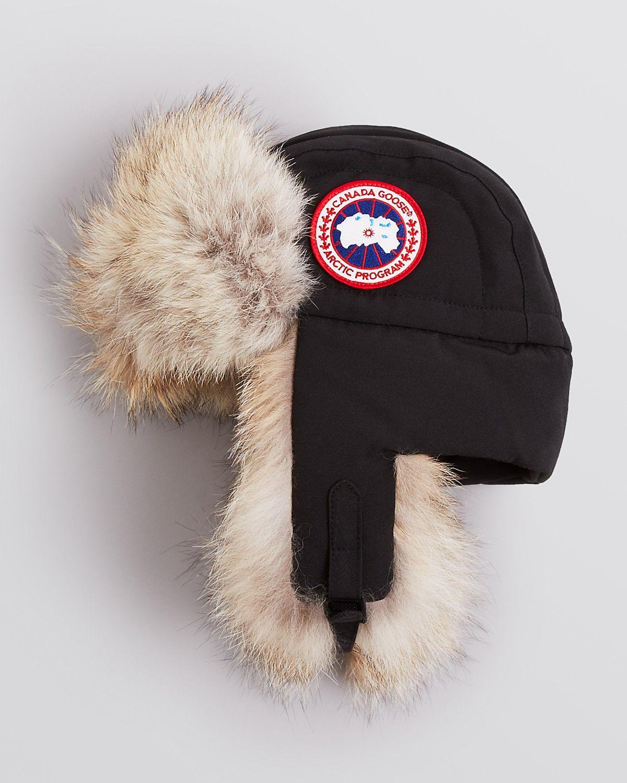 Canada goose aviator hat men bloomingdales aviator