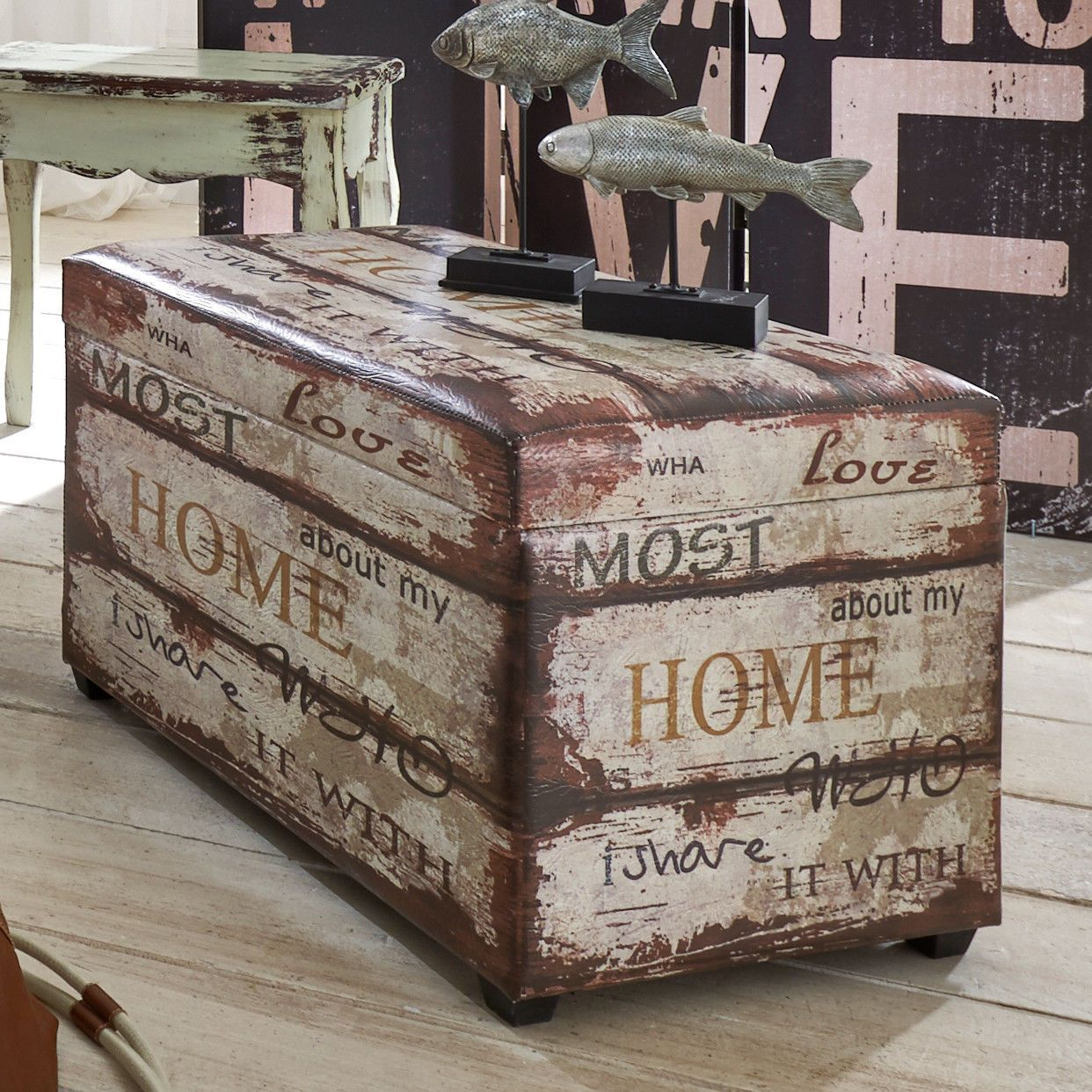 Vintage storage #bench #retro ottoman seat bedroom #blanket box faux leather ches,  View more on the LINK: http://www.zeppy.io/product/gb/2/262654087893/