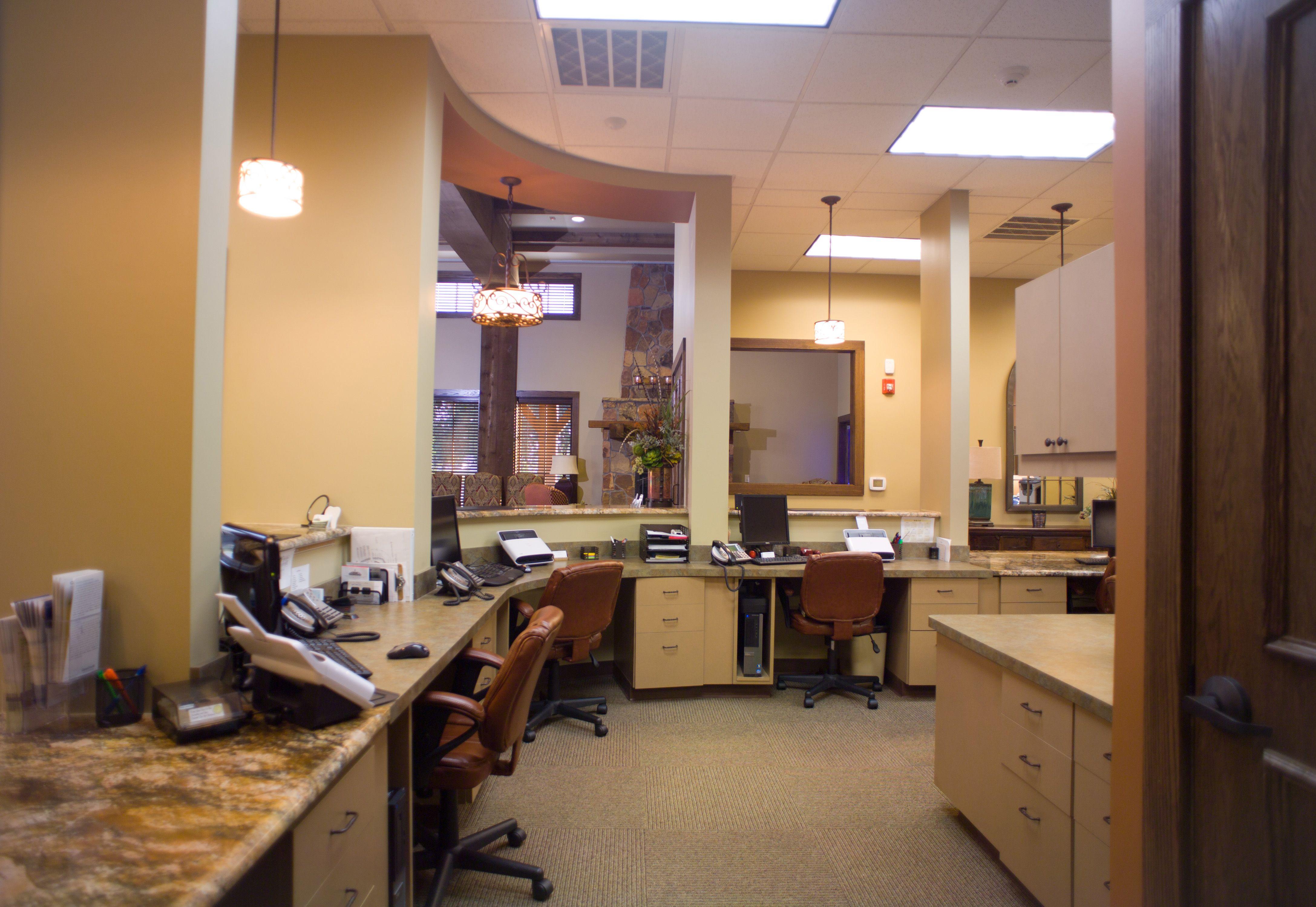 Granbury dental business office medical office design