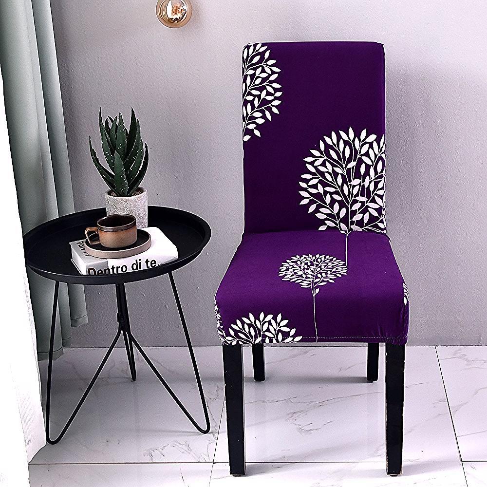 Housse De Chaise Extensible Et Elastique Coton Decor Home