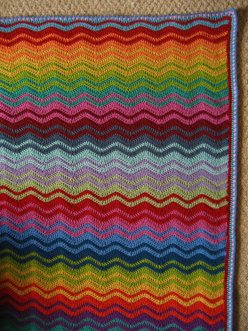 Ravelry Neat Ripple Pattern Pattern By Lucy Of Attic24 Crochet Ripple Blanket Afghan Crochet Patterns Crochet Ripple