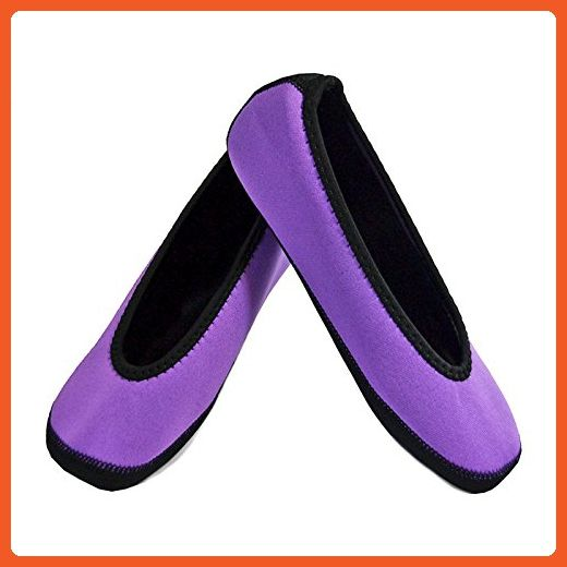 960462b95 NuFoot Ballet Flats Women's Shoes, Best Foldable & Flexible Flats,  Slipper Socks,