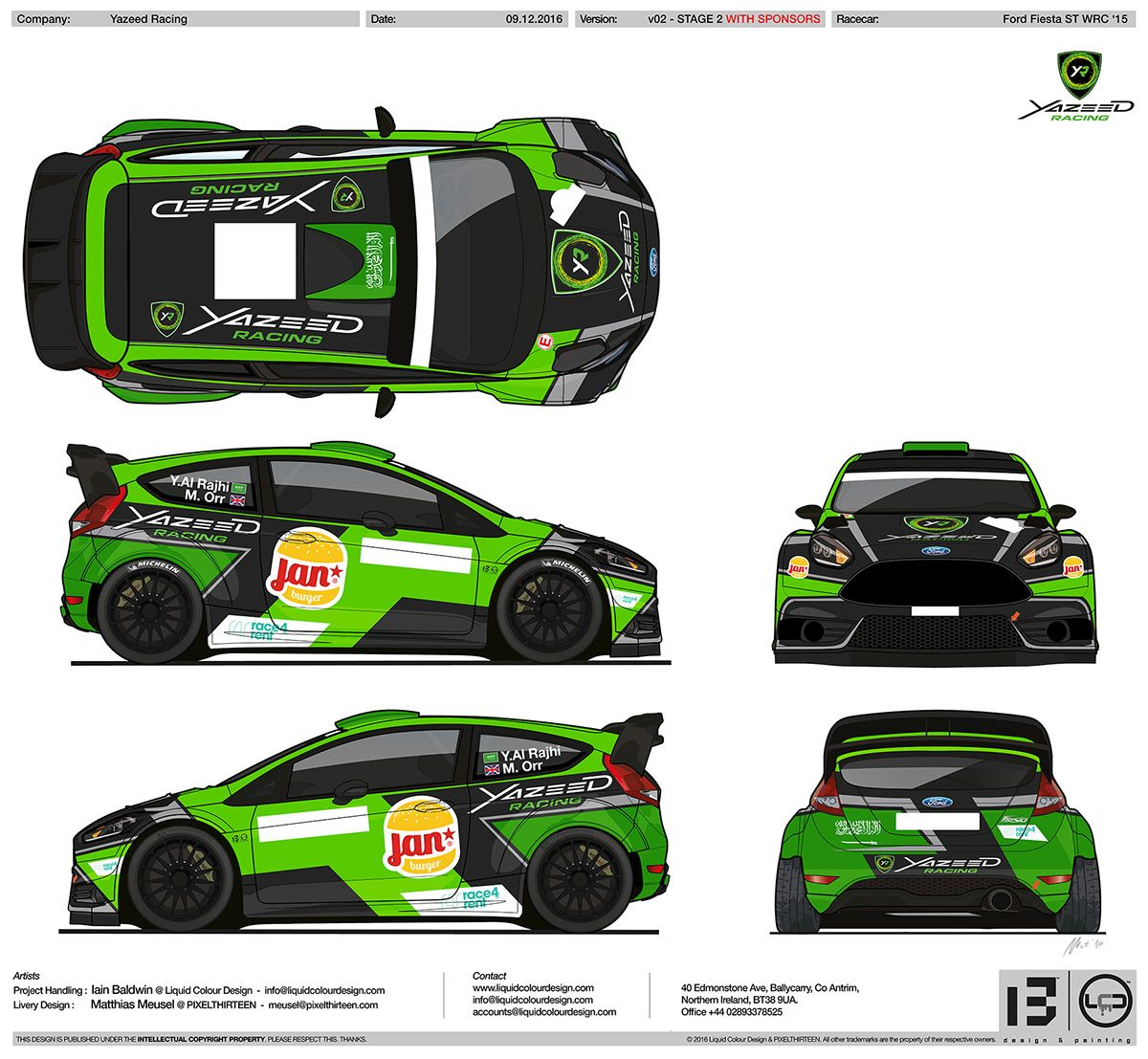 Yazeed Racing Livery Design On Behance Racing Car Design Racing Race Cars [ 1107 x 1200 Pixel ]