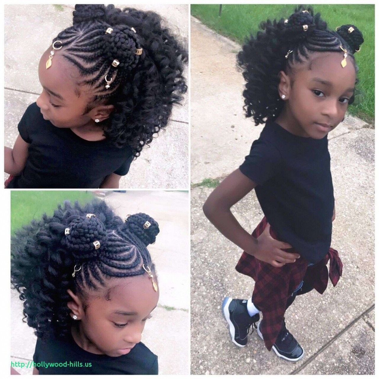 Image Result For Cute Hairstyles For 10 Year Old Black Girls Lil Girl Hairstyles Kids Braided Hairstyles Thick Hair Styles