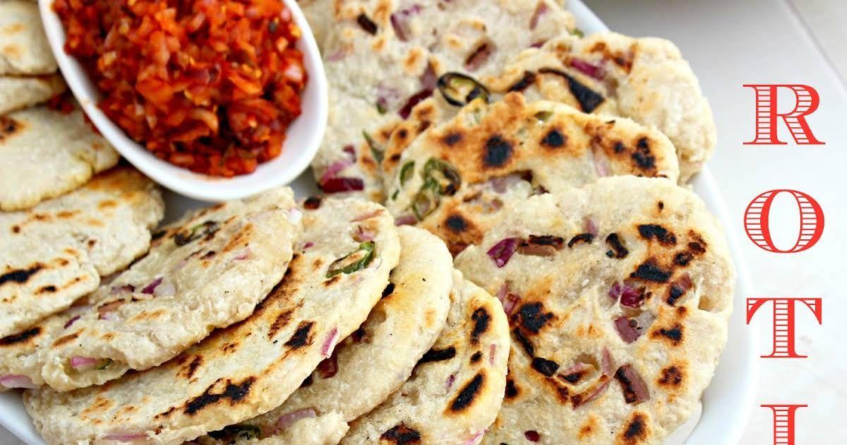 Sri Lankan Coconut Roti Flat Bread Recipe Yummly Recipe Recipes Flatbread Roti Recipe