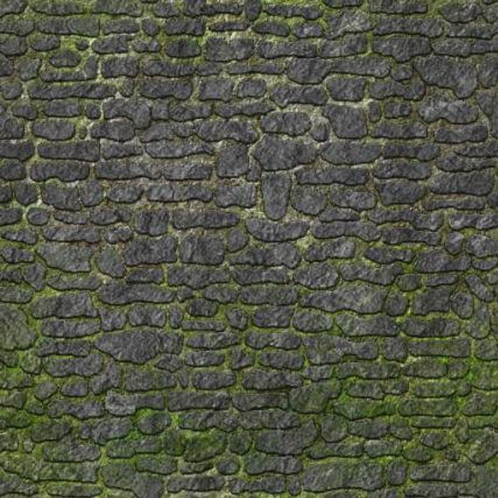 6 Sheets A4 Cobblestone Floor Wall Grass 1 X2f 12 Scale Self