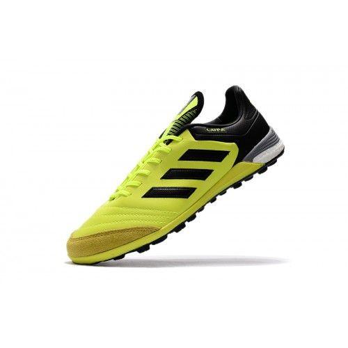 Salg Adidas Copa Tango 17.1 IN Fodboldstøvler - Bedst Adidas Copa Tango  17.1 IN Gul Sort