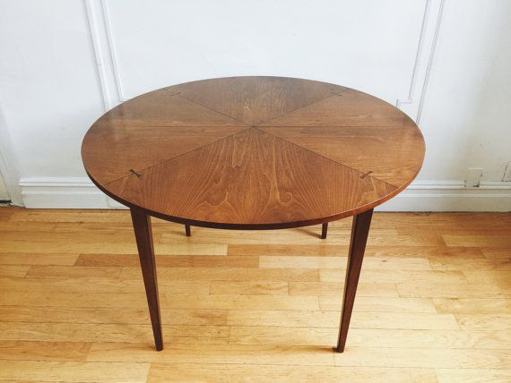 Mid Century Modern Lane Tuxedo Dining Table By Quinncasa On Etsy Furniture
